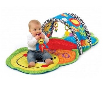 飛炫寶寶 【澳洲 Playgro 】毛毛蟲隧道遊戲墊