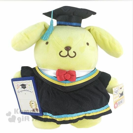 〔小禮堂〕布丁狗 畢業玩偶娃娃《L.站姿.學士服》