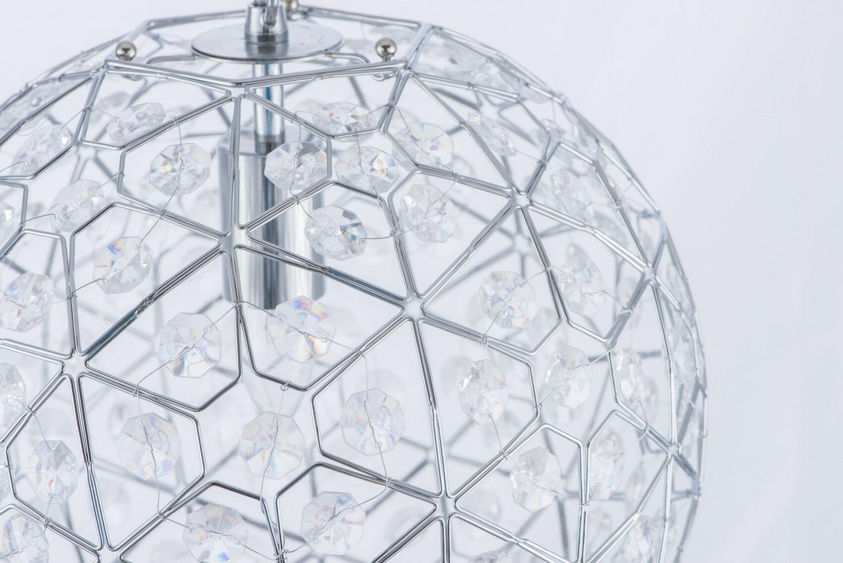 圓形幾何圖案壓克力吊燈-BNL00069 2