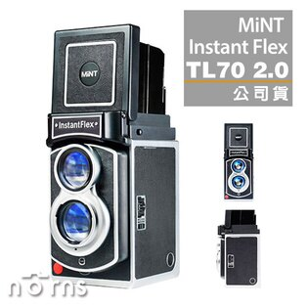 NORNS【MiNTInstantFlexTL702.0拍立得相機】instax雙鏡頭第二代公司貨保固一年