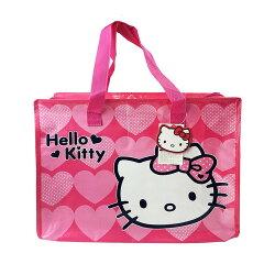 X射線【C198405】Hello Kitty 購物收納袋,環保購物袋/塑膠袋/防水袋/補貨袋/收納袋/折疊購物袋