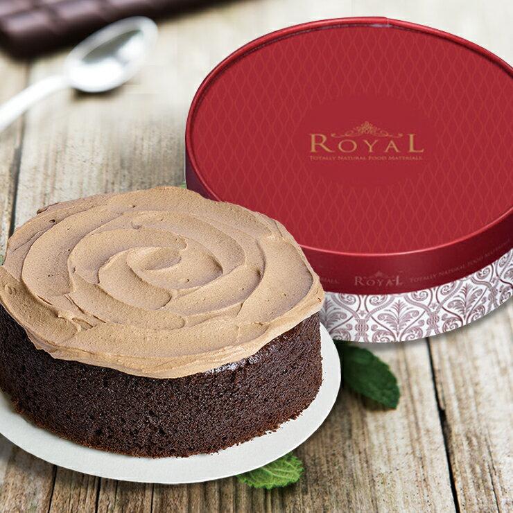 【古典巧克力蛋糕】6吋 法芙娜巧克力 / 甜點 / 點心 / 下午茶《 巧可康 》