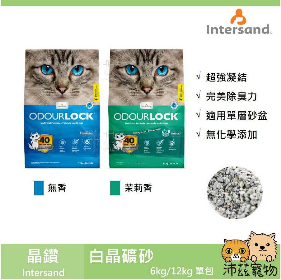 沛茲寵物【晶鑽 Intersand 白晶礦砂】白晶 礦砂 凝結 除臭 貓砂 貓 砂