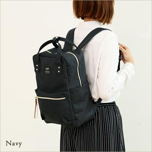 日本anello  /  獨特混色帆布後背包 / 大容量 / 多夾層 /  AT-C1221。共6色-日本必買 日本樂天代購(4212*0.7) 4