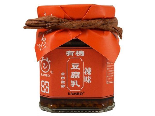 鏡感樂活市集 甘寶 桃米泉 有機辣味豆腐乳 220g/ 罐