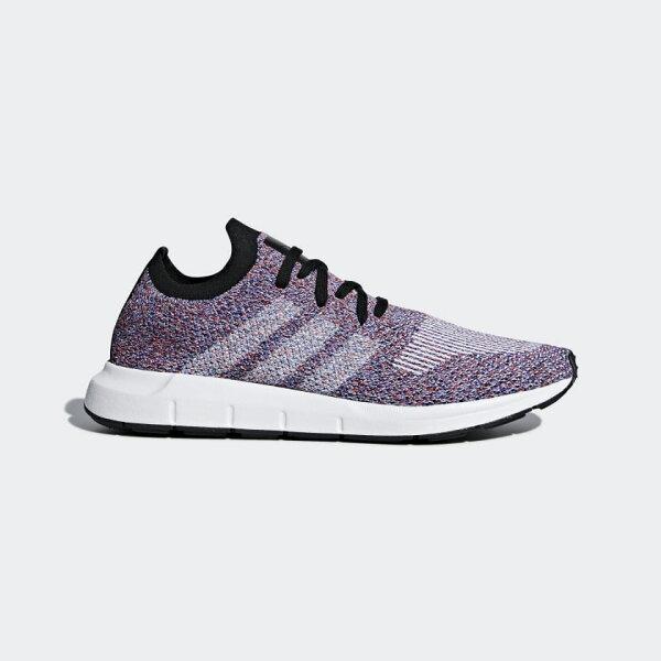 ADIDASSWIFTRUNPRIMEKNIT男鞋慢跑編織透氣輕量紫白【運動世界】CQ2896
