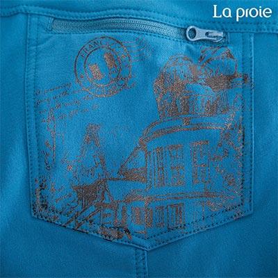 La proie 女式彈力旅行褲-印花(兩色) 2