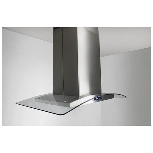 "AKDY 30"" GV-AIS2-30 Europe Style Stainless Steel Island Range Hood Touch Sensor Control 3"