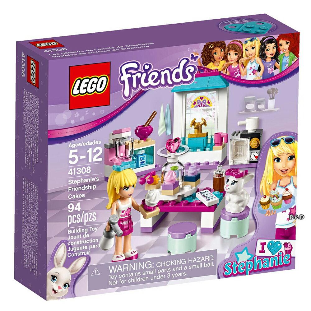 樂高積木LEGO《 LT41308 》Friends 姊妹淘系列 -斯蒂芬妮的友情蛋糕