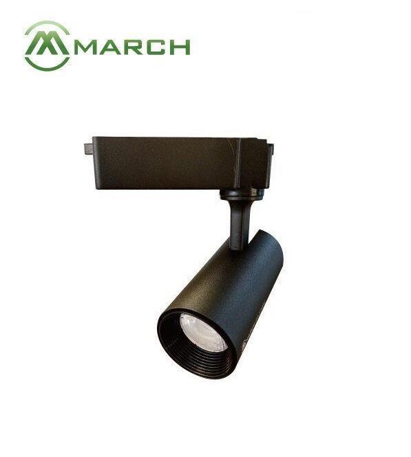 好視多~MARCH 20W 30W 望月 LED 軌道燈 投射燈 投光燈 黑色/白色 白光/自然光/黃光