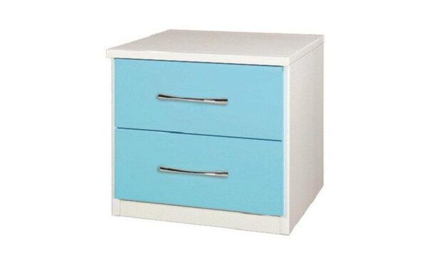 【石川家居】845-16(藍白色)床頭櫃(CT-208)#訂製預購款式#環保塑鋼P無毒防霉易清潔