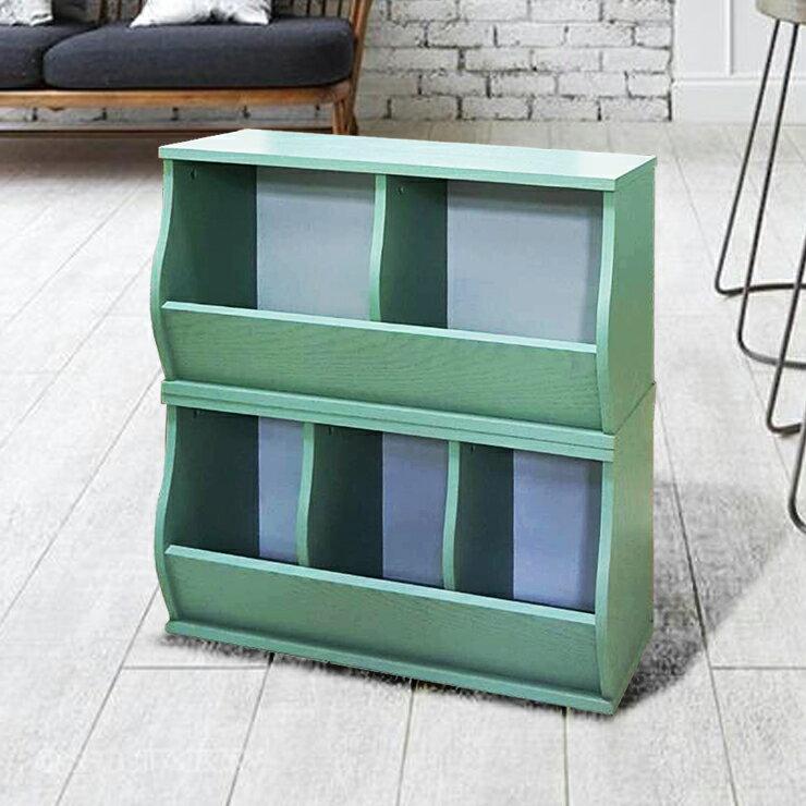 免運費~(3格)DIY質感斜取式造型收納櫃 / 可堆疊收納櫃 / 格櫃 / 斜櫃 / 置物櫃 / 置物盒~ 寬80.5*深30.5*高41公分  #樂創木工# 6