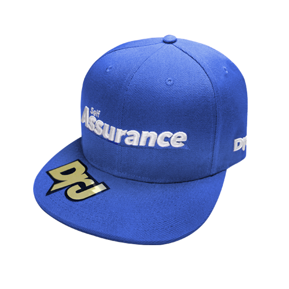 DrJ 電繡Assurance棒球帽 藍色