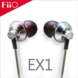 【FiiO EX1鈦晶振入耳式耳機】可搭配iPhone6/6Plus / iPod / X1 / X3第二代 / X5第二代播放器使用【風雅小舖】