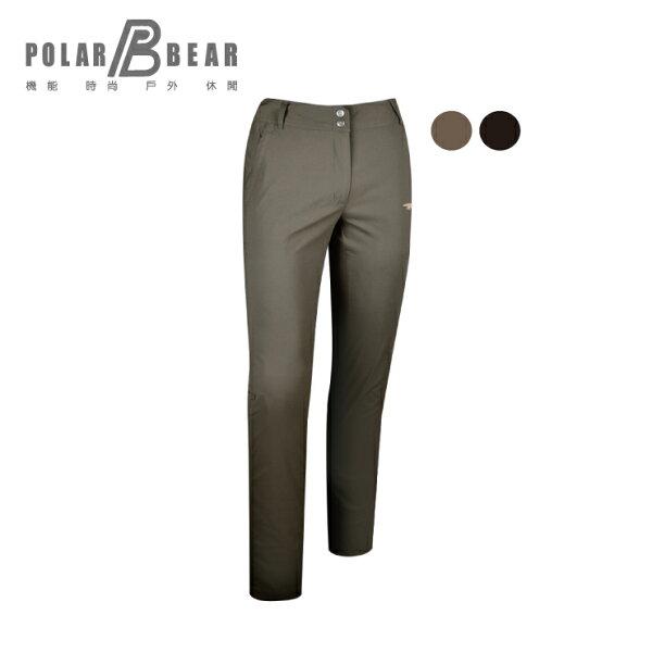 【POLARBEAR】女SUPPLEX彈性抗UV旅行直筒褲