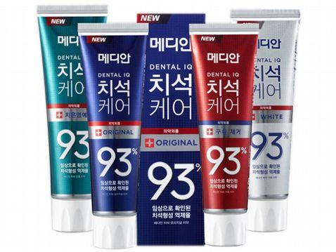 **現貨**韓國Median93%牙膏 /麥迪安 93%強效淨白去垢牙膏[FIFI SHOP]