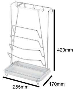 洗樂適衛浴:DAY&DAY桌上型鍋蓋架(ST3027T)