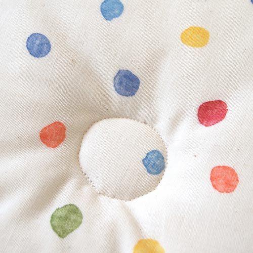 Hoppetta - Naomi Ito - 繽紛波點凹型枕 4