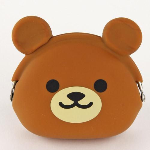 【百倉日本舖】日本進口p+g design小熊系列零錢包/矽膠零錢包
