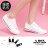 【ADH-008】低筒帆布鞋 2.5CM跟高 綁帶編織帆布材質 校園簡約休閒百搭基本款 3色 1