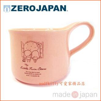 asdfkitty可愛家☆ZERO JAPAN雙子星陶瓷馬克杯-小-日本製