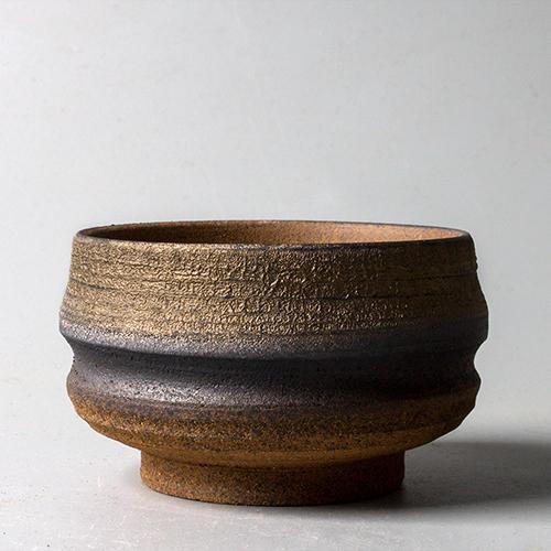 景德鎮手工陶瓷品茗杯 復古日式粗陶茶碗主人杯柴燒 功夫茶具茶杯1入