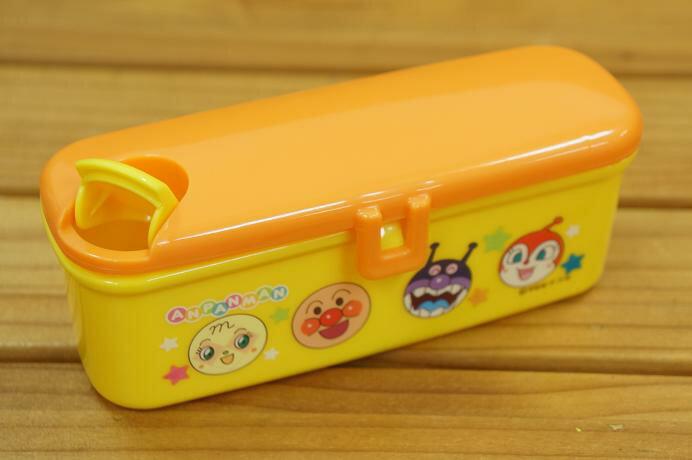 【真愛日本】17052300002 塑膠零食盒-ANP 電視卡通 麵包超人 吐司超人 細菌人 收納盒
