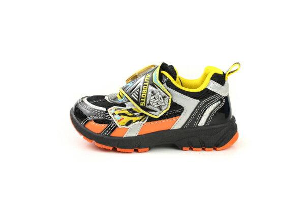 變形金鋼 TRANSFORMERS  運動鞋 球鞋 魔鬼氈 舒適 黃色 黑色 中童 童鞋 TF5169 no698 6