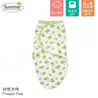 Summer Infant - SwaddleMe - Original 聰明懶人育兒包巾 - 快樂池塘