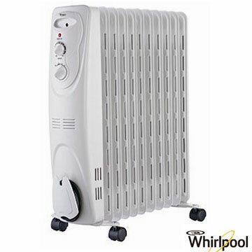<br/><br/>  Whirlpool 惠而浦 WORM11W 11葉 機械式葉片電暖器   免運 0利率 公司貨 日立可參考<br/><br/>