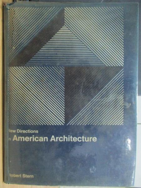 【書寶 書T8/建築_WFG】American architecture_1969