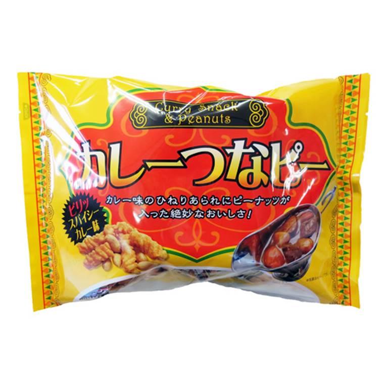 泉屋製菓 卡哩卡哩點心餅 - 咖哩花生米果 (155g) カレーつなピー