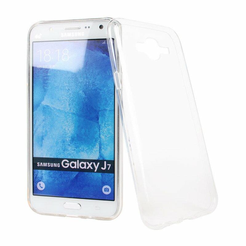 Ultimate-Samsung J7 清新全透軟質三星手機果凍套防摔背蓋 保護殼 手機殼 手機軟殼 清水套
