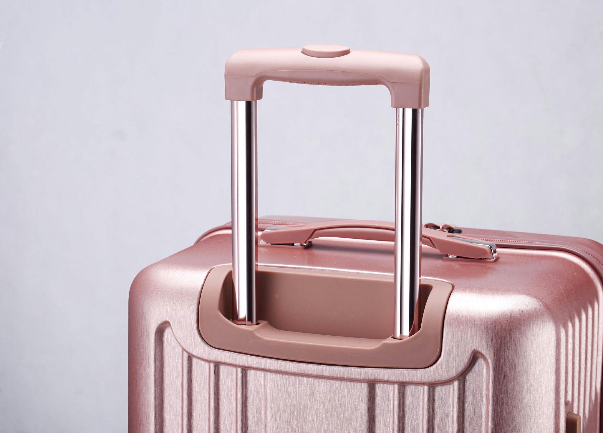 運動款 拉鍊 胖胖箱 旅行箱 20吋25吋29吋 行李箱 -鐵灰色 / 深紫色 / 玫瑰金-現貨當日出貨-免運台南可預約自取 6