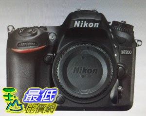 [COSCO代購如果售完謹致歉意]W110703NIKOND7200單眼相機(含35MMF1.8鏡頭)
