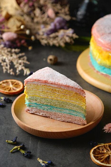冬季限定聖誕蛋糕千層/年輪蛋糕彩虹千層蛋糕是用天然花青素調出來的色系,不僅享受到聖誕視覺饗宴,也吃的安心健康!冬季限定聖誕蛋糕就在千層/年輪蛋糕推薦千層/年輪蛋糕
