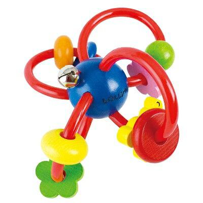 【悅兒樂婦幼用品館】LOLLY 木製玩具-歡樂手搖鈴