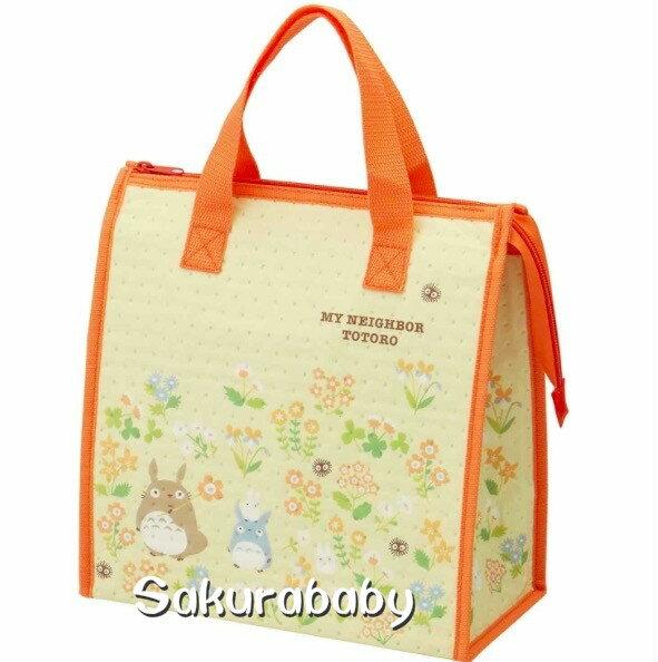 豆豆龍 龍貓周邊 不織布保冷袋 便當袋 保冷袋 大容量 櫻花寶寶