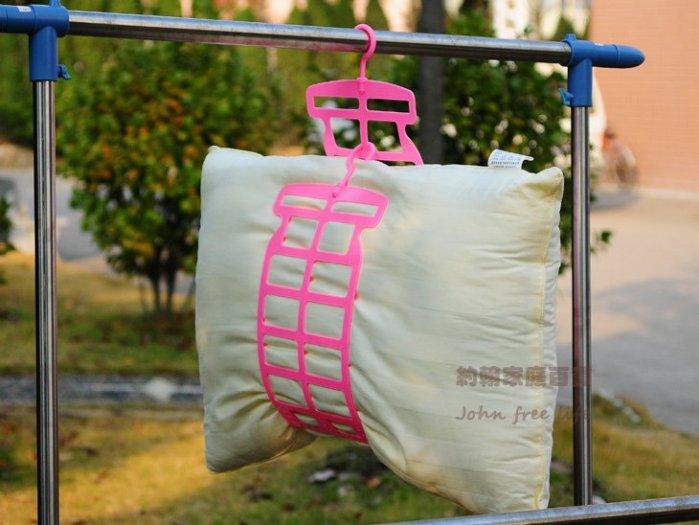 約翰家庭百貨》【BE130】日式枕頭晾曬架 枕心曬架 娃娃玩偶曬架 隨機出貨