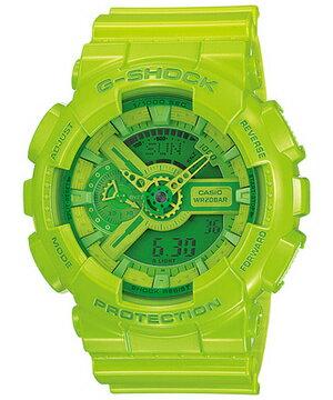 國外代購 CASIO G-SHOCK 摩登翠綠 GMA-110CC-3A 防水 手錶 腕錶 電子錶 男女錶