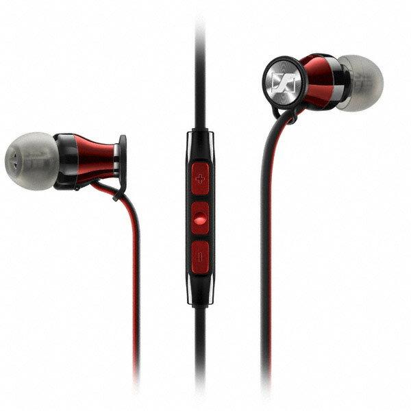 SENNHEISER 森海 MOMENTUM In-Ear i 線控耳道式耳機(紅/黑)
