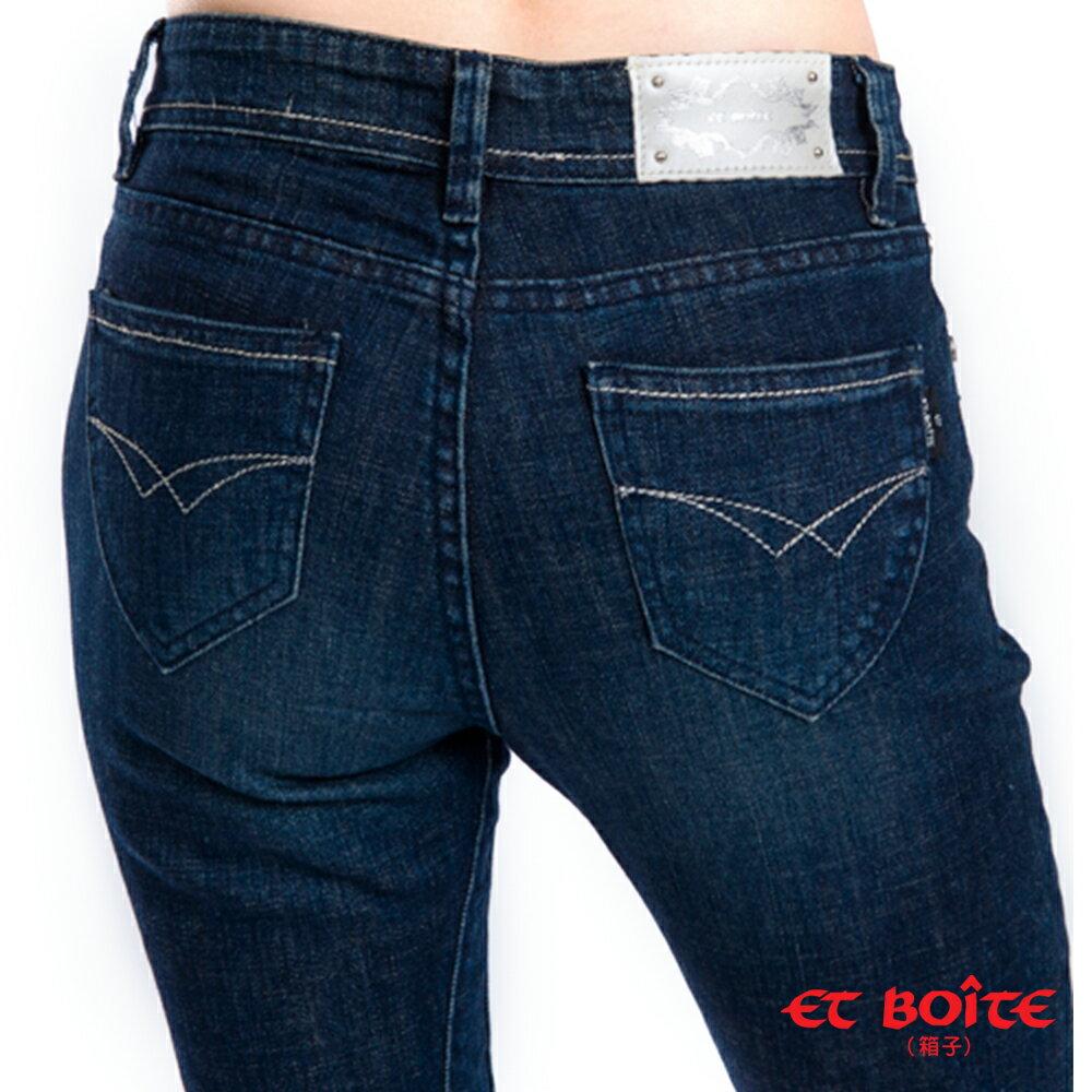 【 990元優惠↘】銀線中腰九分褲 - BLUE WAY  ET BOiTE 箱子 2
