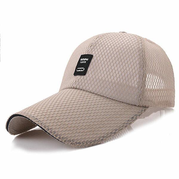 PS Mall 大簷遮陽帽11cm戶外網帽子【G1007】 3