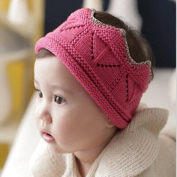 新潮頭飾 針織毛線頭花 髮飾 髮帶 針織帽 SS11122 好娃娃