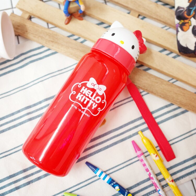 PGS7 日本三麗鷗系列商品 - 三麗鷗 Hello Kitty 凱蒂貓 頭型 翻蓋 水壺 水瓶【SEZ7110】