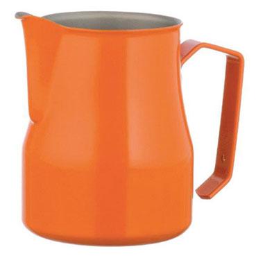 金時代書香咖啡 MOTTA 專業拉花杯 奶泡杯 500ml 橘  HC7093OR