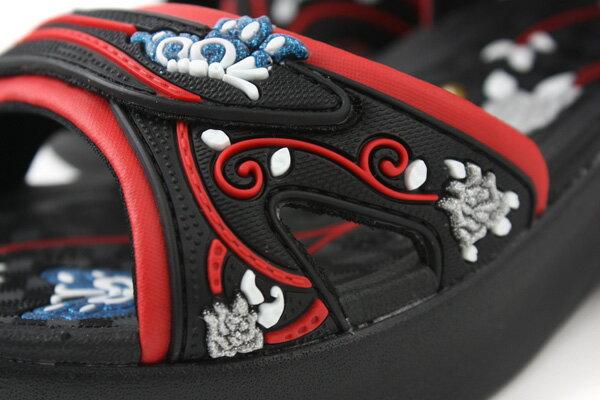 G.P 涼鞋 黑紅 女款 no620 3