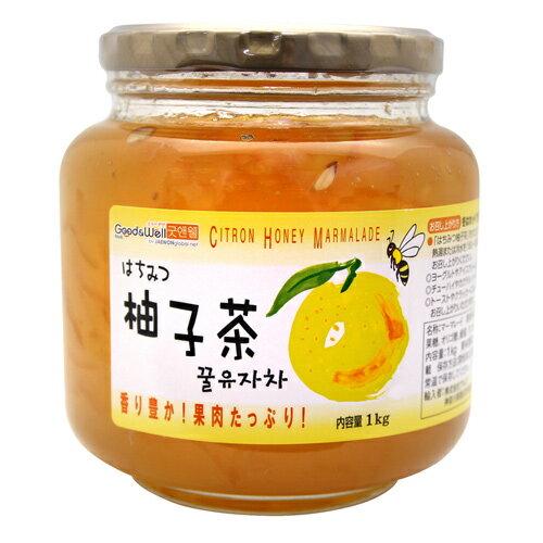 【韓國Good&Well】黃金蜂蜜柚子茶 柚子醬 1kg 韓國傳統風味 水果含量up up 3.18-4 / 7店休 暫停出貨 0