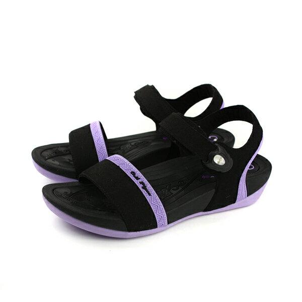 GP(Gold.Pigon)阿亮代言涼鞋女鞋防水雨天黑粉紫G8690W-41no913