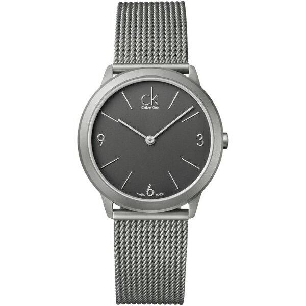 CK 經典系列(K3M52154)簡約風潮米蘭時尚腕錶/灰面35mm